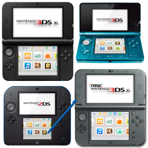 2DS 3DS New3DS