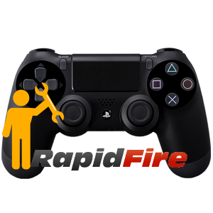installation rapid fire ps4
