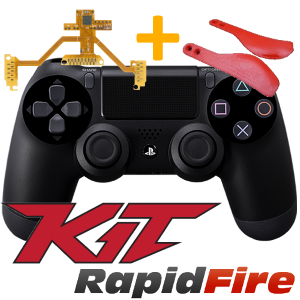 kit rapid fire + palette ps4