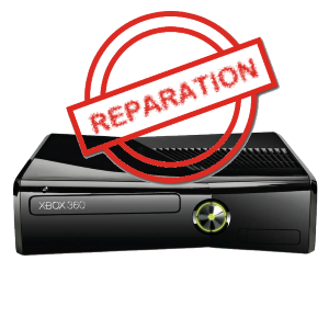 reparation divers xbox 360