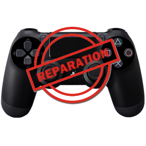 Reparation manette ps4