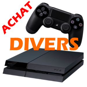 ACHAT DIVERS PS4