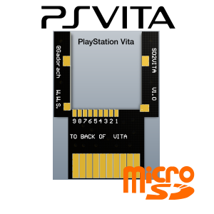 Adaptateur MICRO SD Game Card
